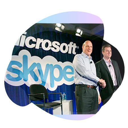 Майкрософт купила Скайп